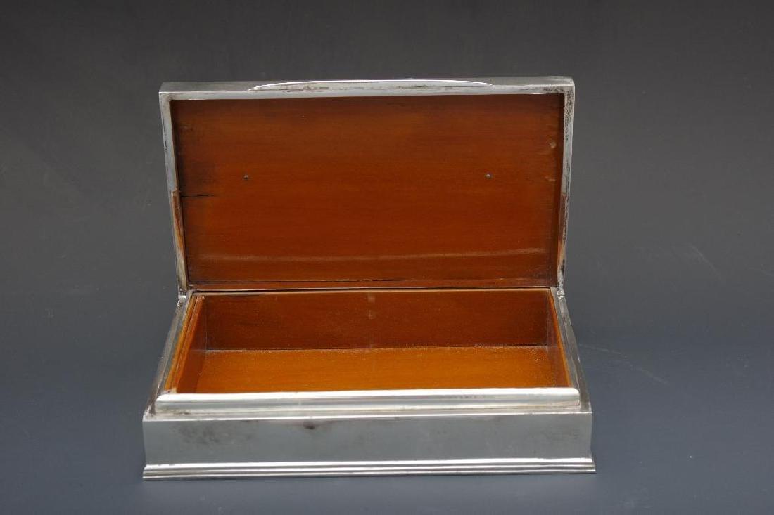 Thai Sterling Silver Box - 6