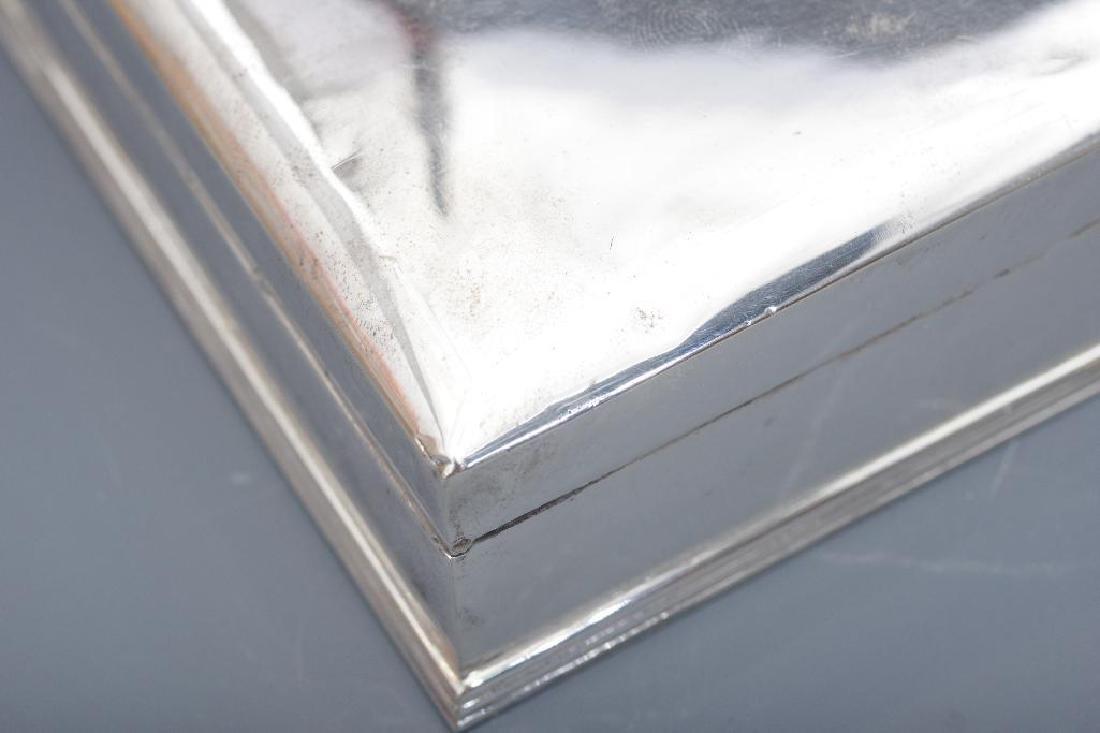 Thai Sterling Silver Box - 8
