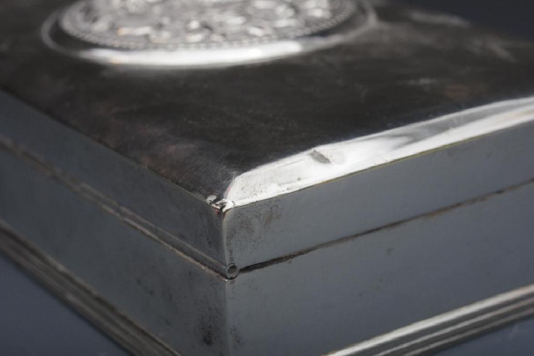 Thai Sterling Silver Box - 9
