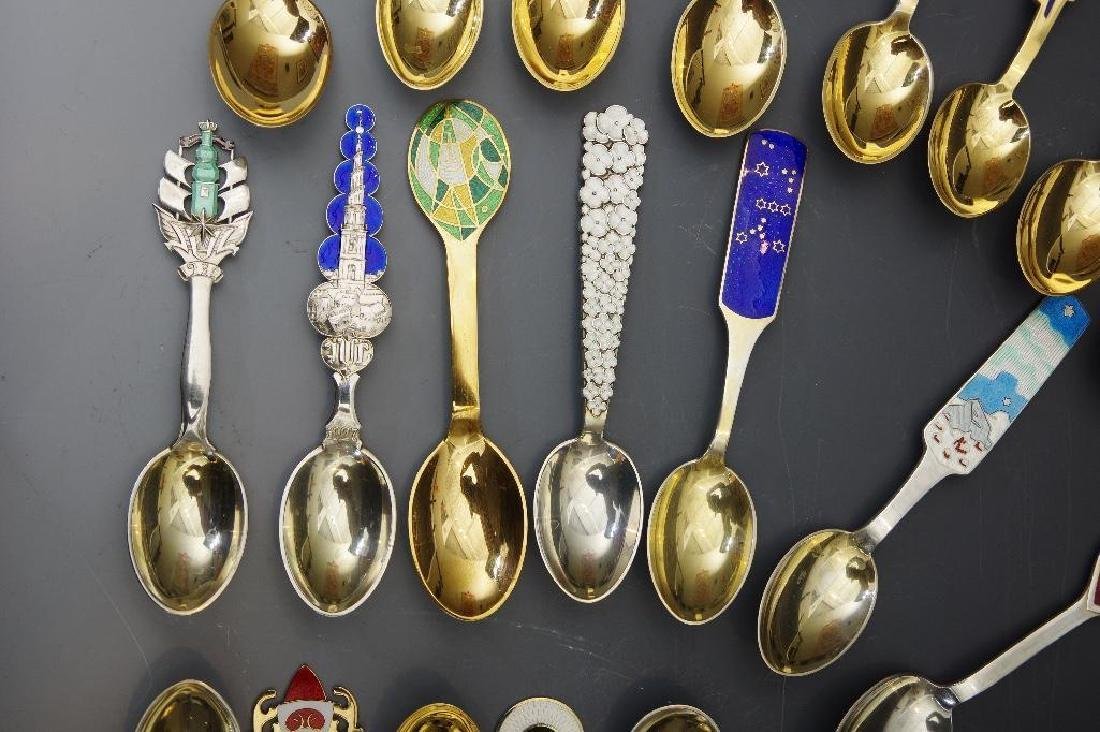 A.Michelsen,Forty Three Silver and Enamel Christmas - 10