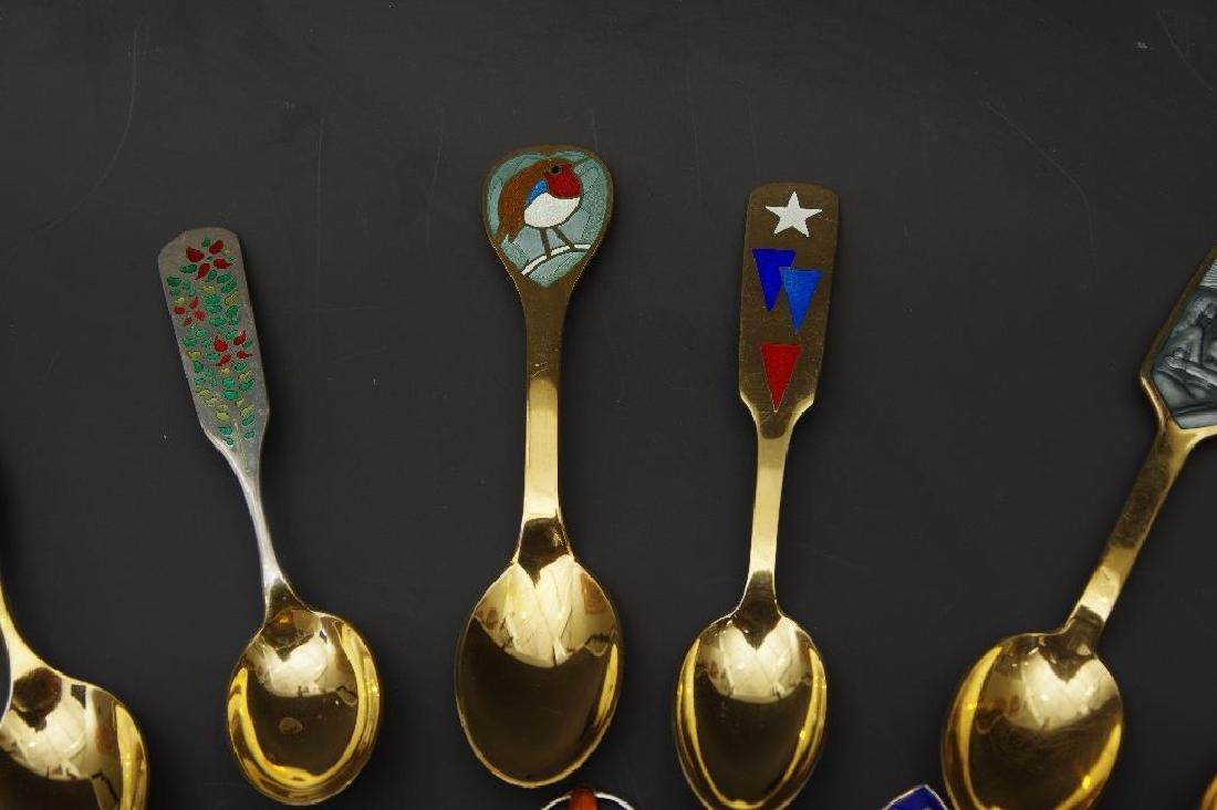 A.Michelsen,Forty Three Silver and Enamel Christmas - 7