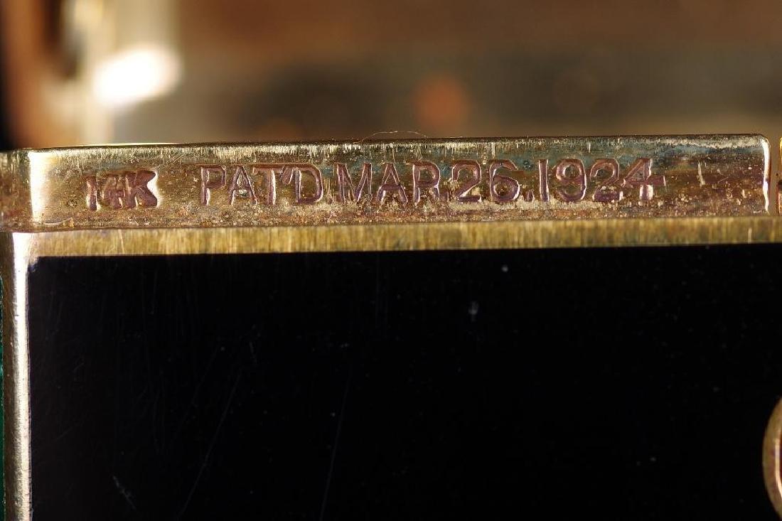 Cartier Art Deco Gold & Enamel Cigarette Case, 1924 - 10
