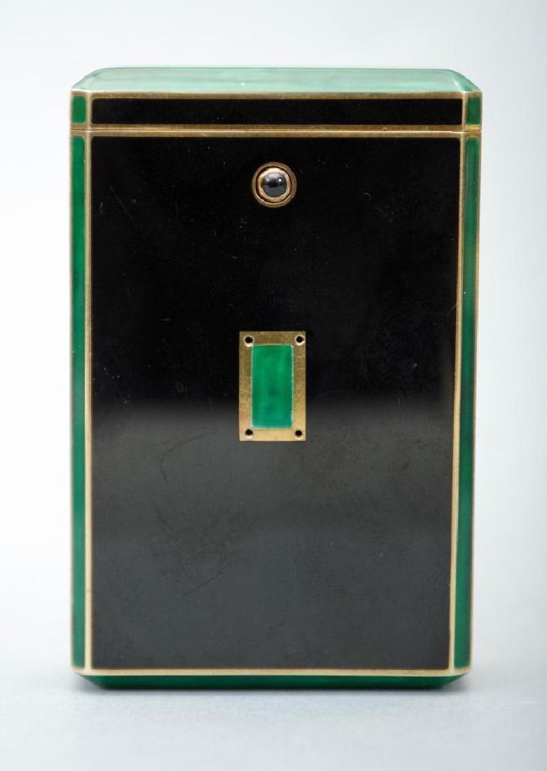 Cartier Art Deco Gold & Enamel Cigarette Case, 1924 - 2