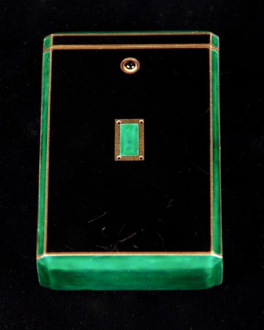Cartier Art Deco Gold & Enamel Cigarette Case, 1924 - 5