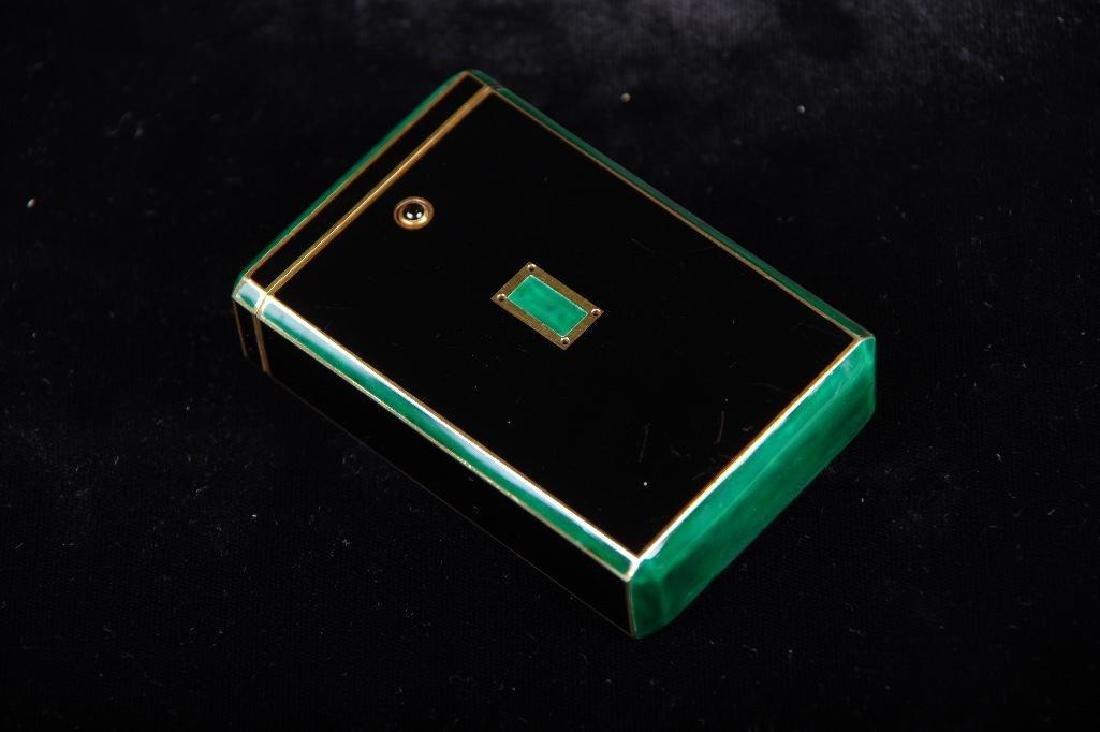 Cartier Art Deco Gold & Enamel Cigarette Case, 1924 - 7