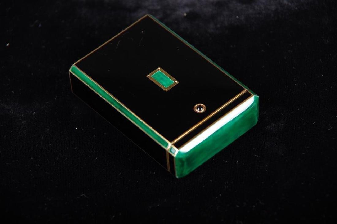 Cartier Art Deco Gold & Enamel Cigarette Case, 1924 - 9