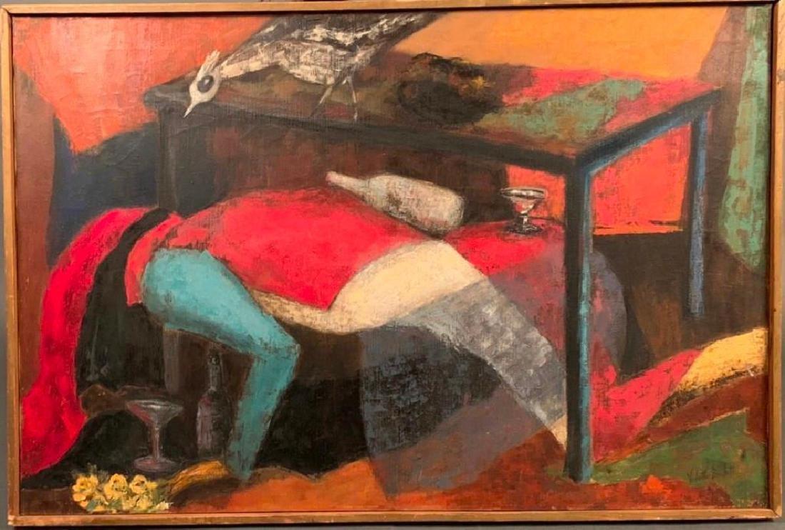 Violette Brockett Oil, Modernist