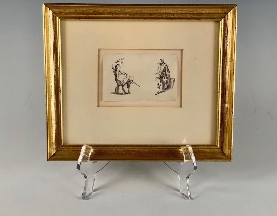 Jacques Callot Engraving