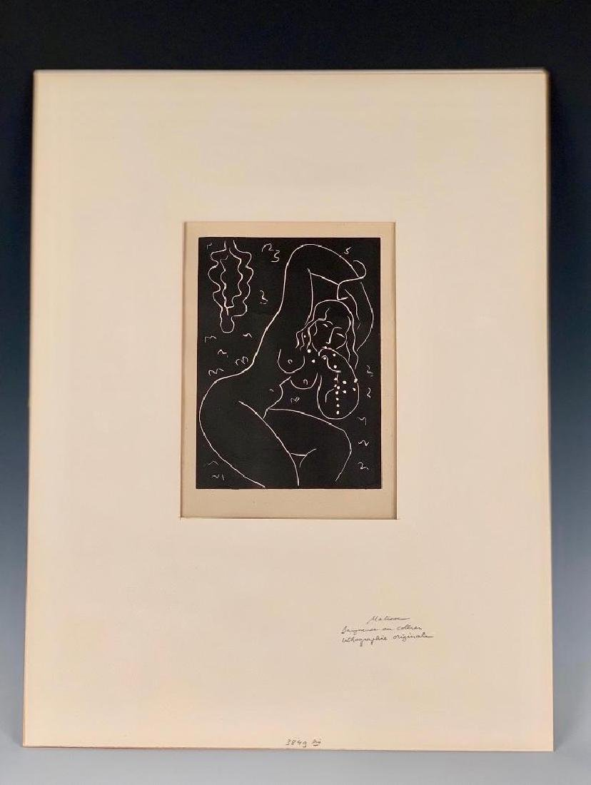 Henri Matisse Linocut