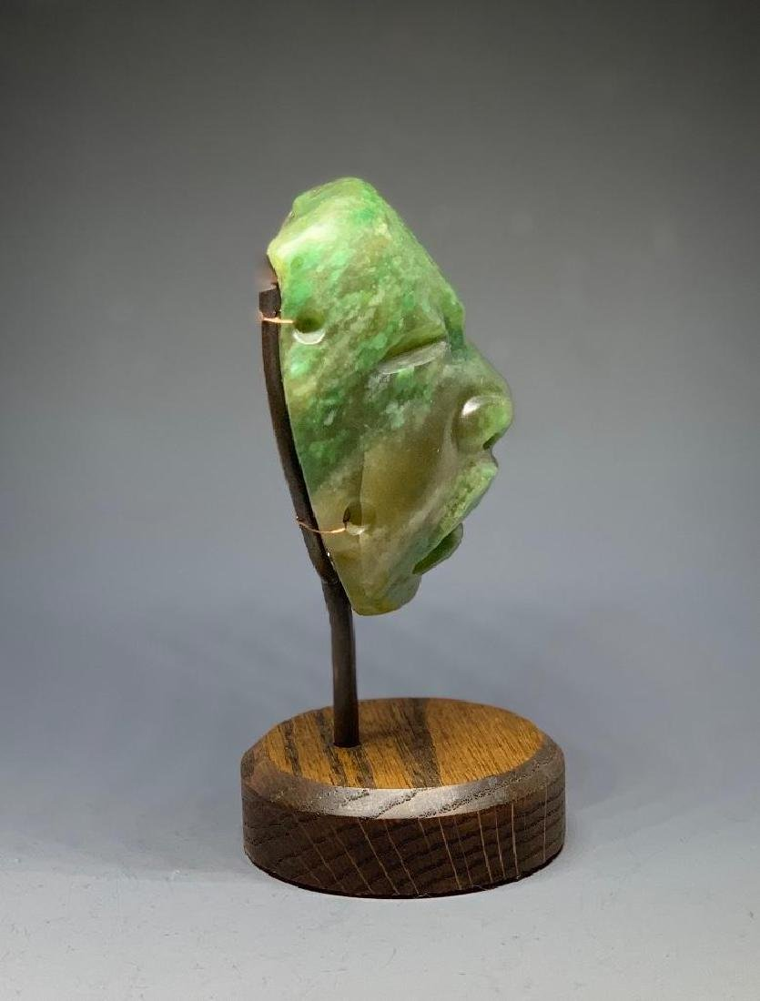Olmec Carved Jade Head - 4