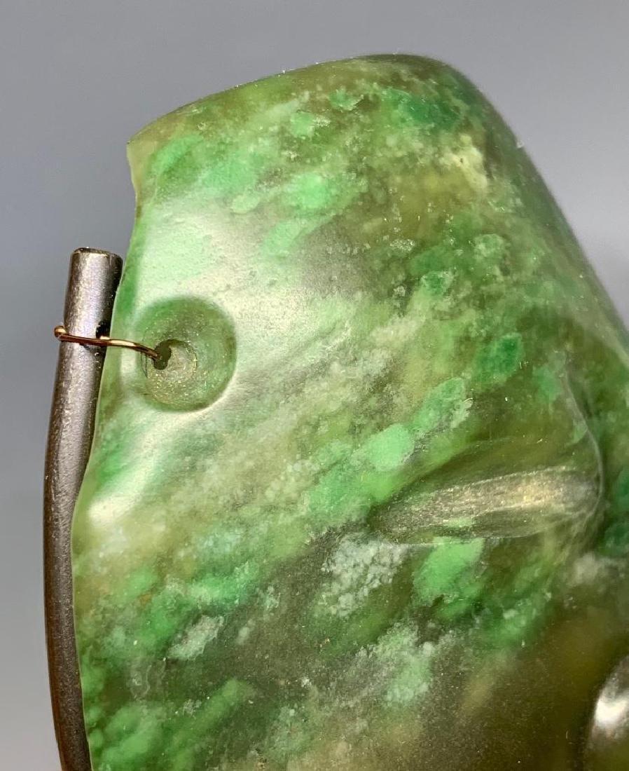 Olmec Carved Jade Head - 6