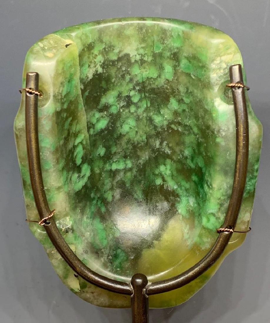Olmec Carved Jade Head - 8