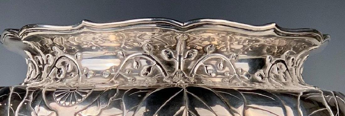 An Imperial Silver Bowl by By Hirata Shigemitsu VII - 10