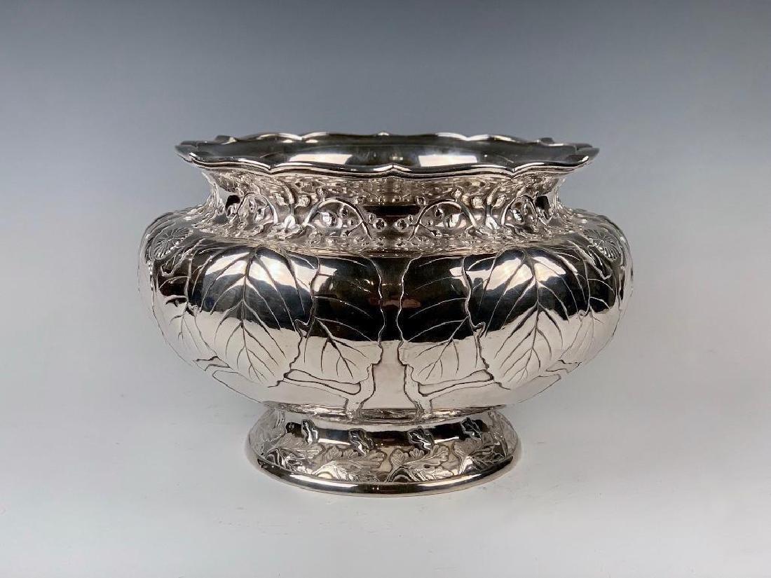 An Imperial Silver Bowl by By Hirata Shigemitsu VII - 2