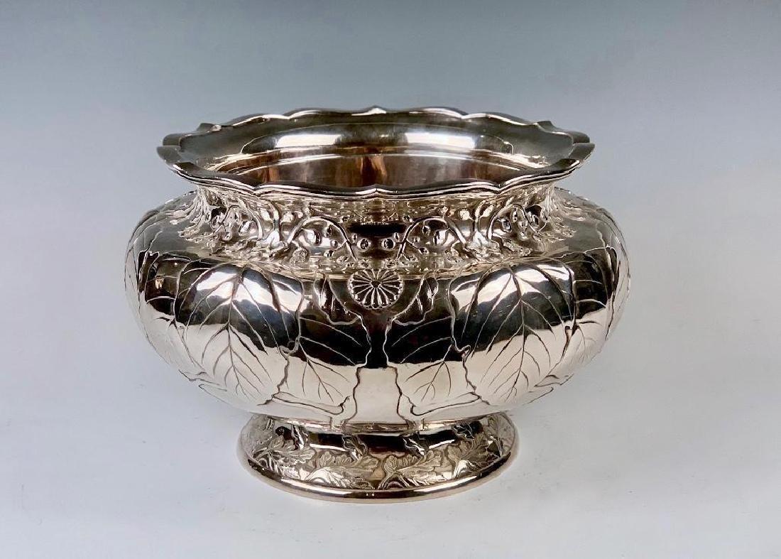 An Imperial Silver Bowl by By Hirata Shigemitsu VII - 3
