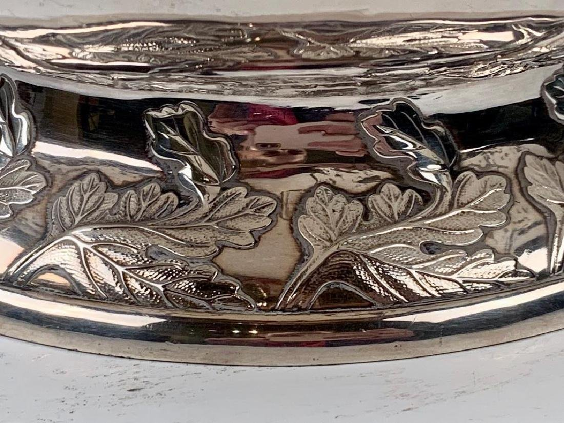 An Imperial Silver Bowl by By Hirata Shigemitsu VII - 5