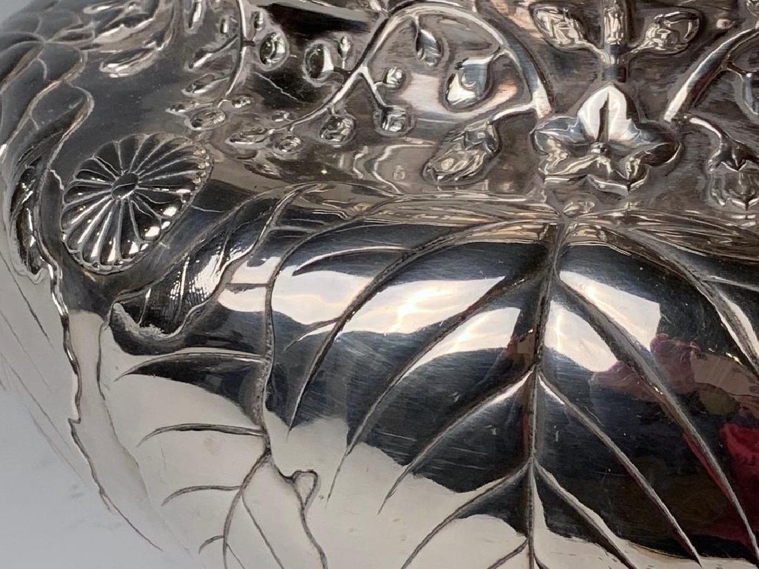 An Imperial Silver Bowl by By Hirata Shigemitsu VII - 6