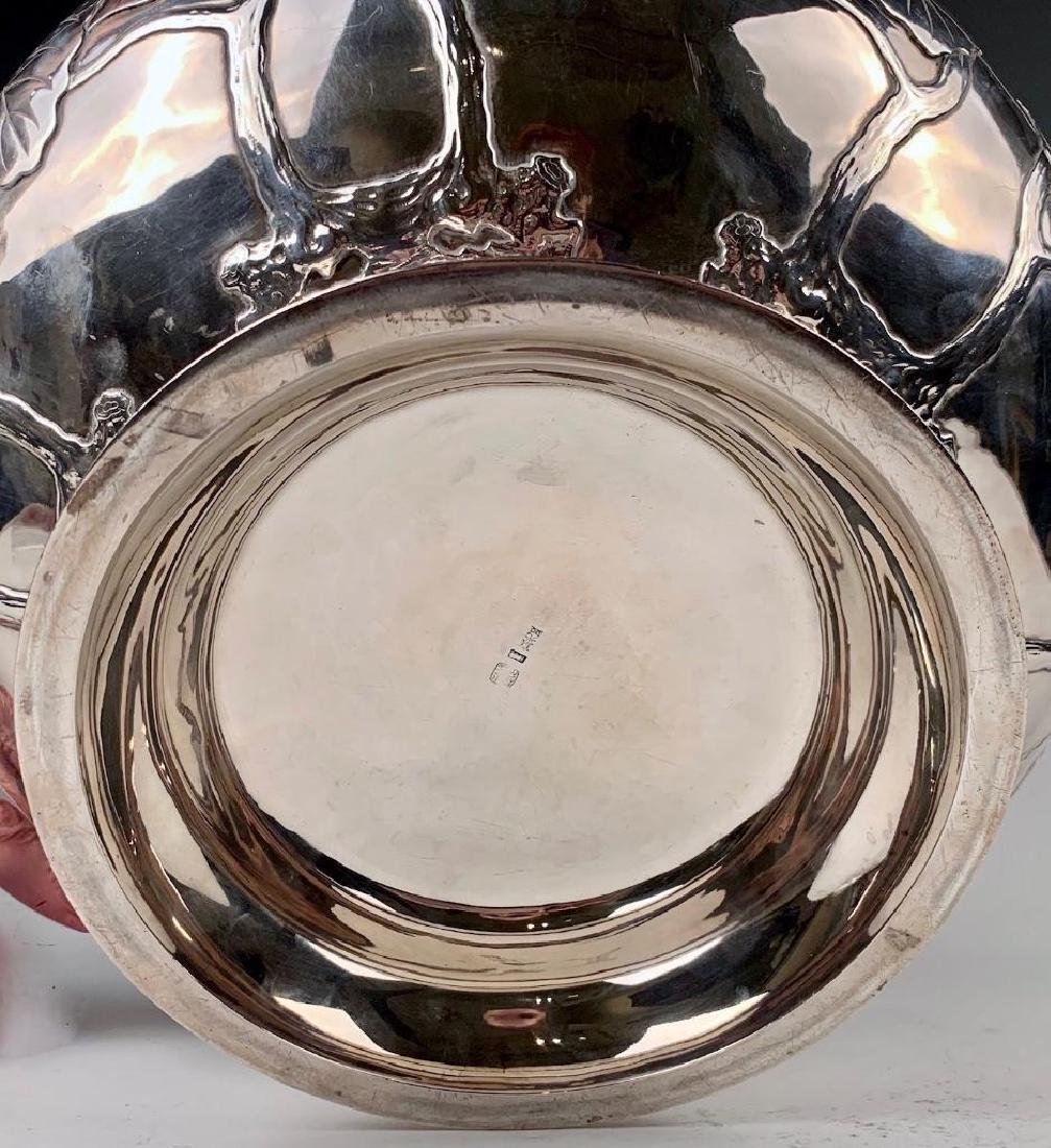 An Imperial Silver Bowl by By Hirata Shigemitsu VII - 8