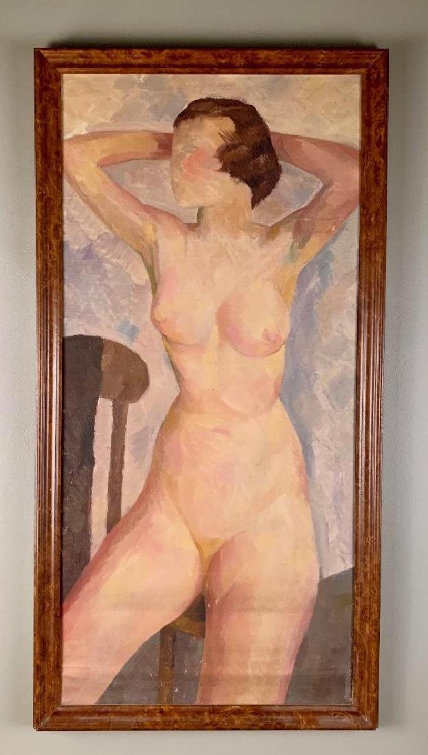 Paul Winchell Oil, Nude
