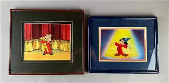 Two Animation Cels