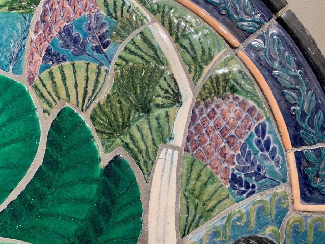 Cowan Pottery Glazed Ceramic Mural, Elsa Vick Shaw - 6