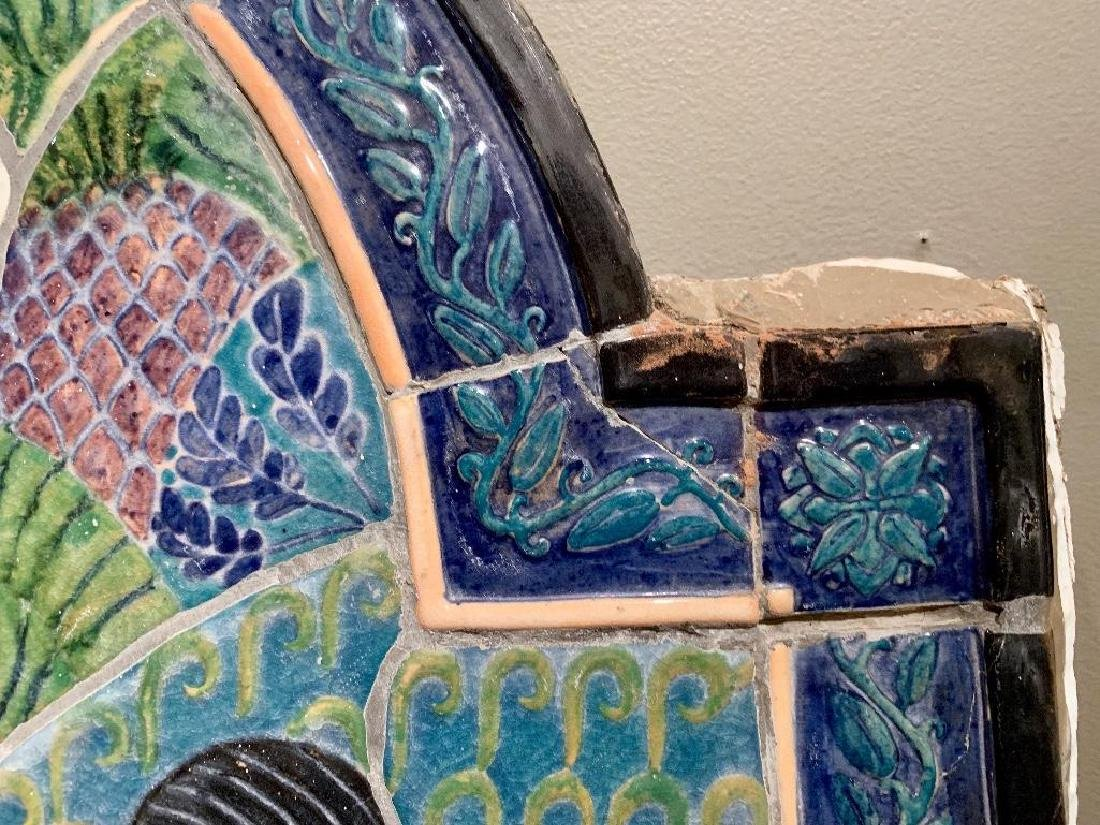 Cowan Pottery Glazed Ceramic Mural, Elsa Vick Shaw - 7