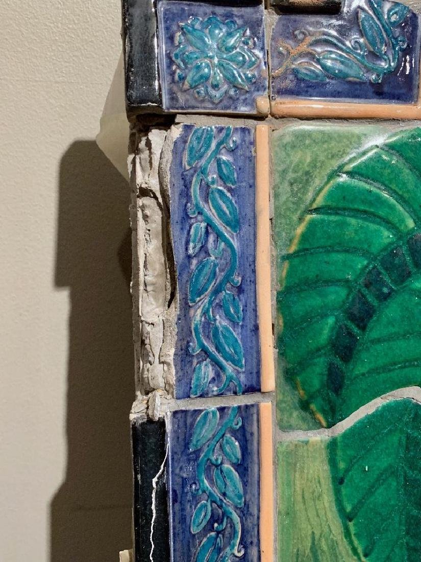 Cowan Pottery Glazed Ceramic Mural, Elsa Vick Shaw - 8