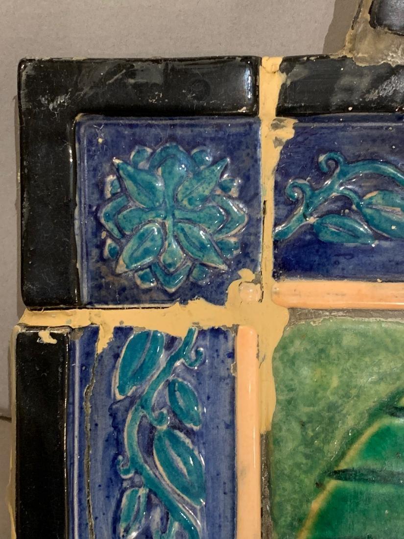 Cowan Pottery Glazed Ceramic Mural, Elsa Vick Shaw - 9