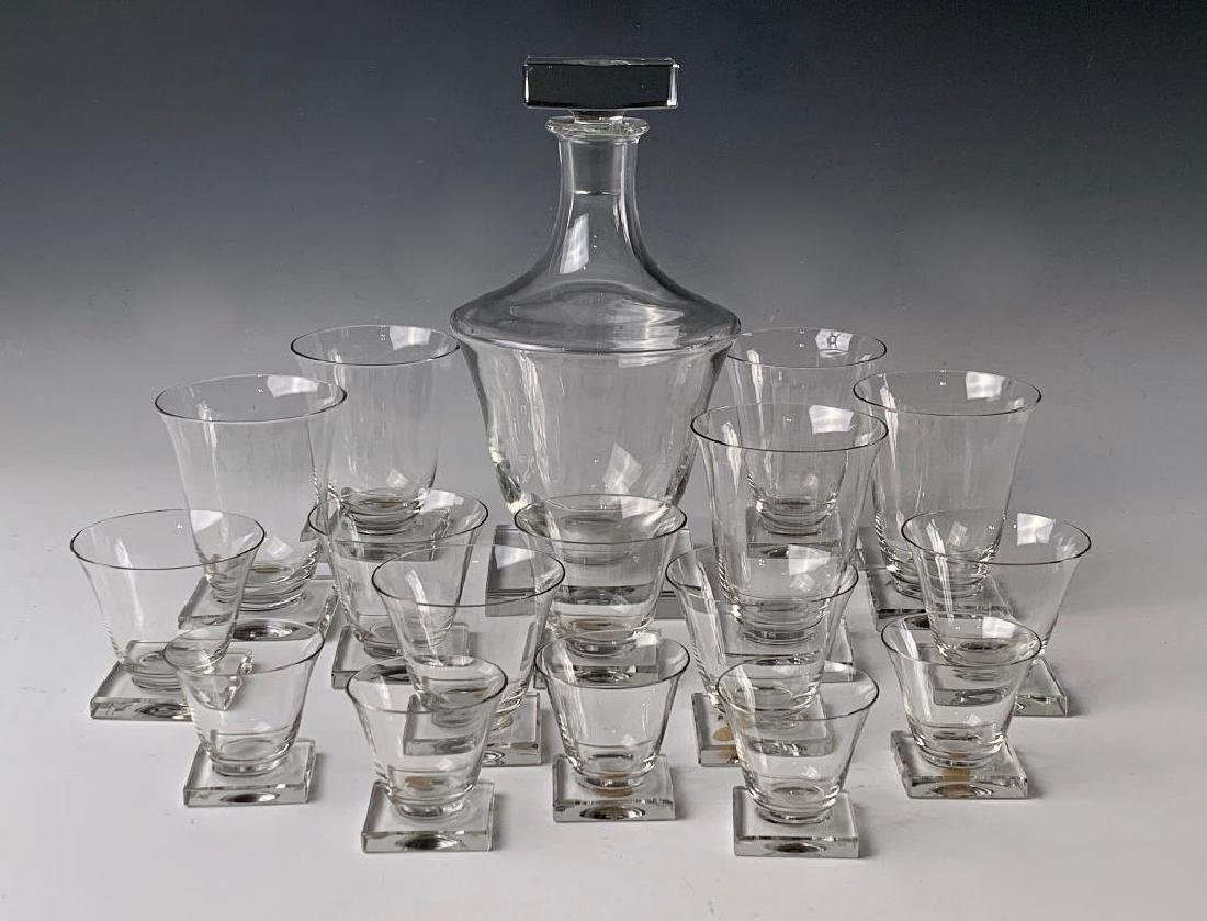 Moser Crystal Service -Decanter, Water, and Wines