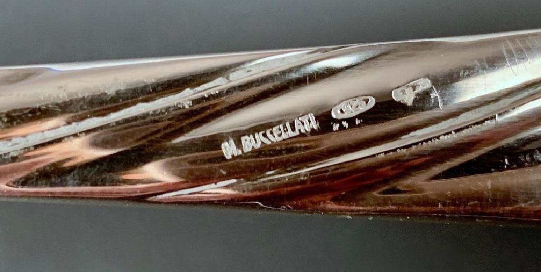 Buccellati Torchon Sterling Silver Flatware Service for - 4