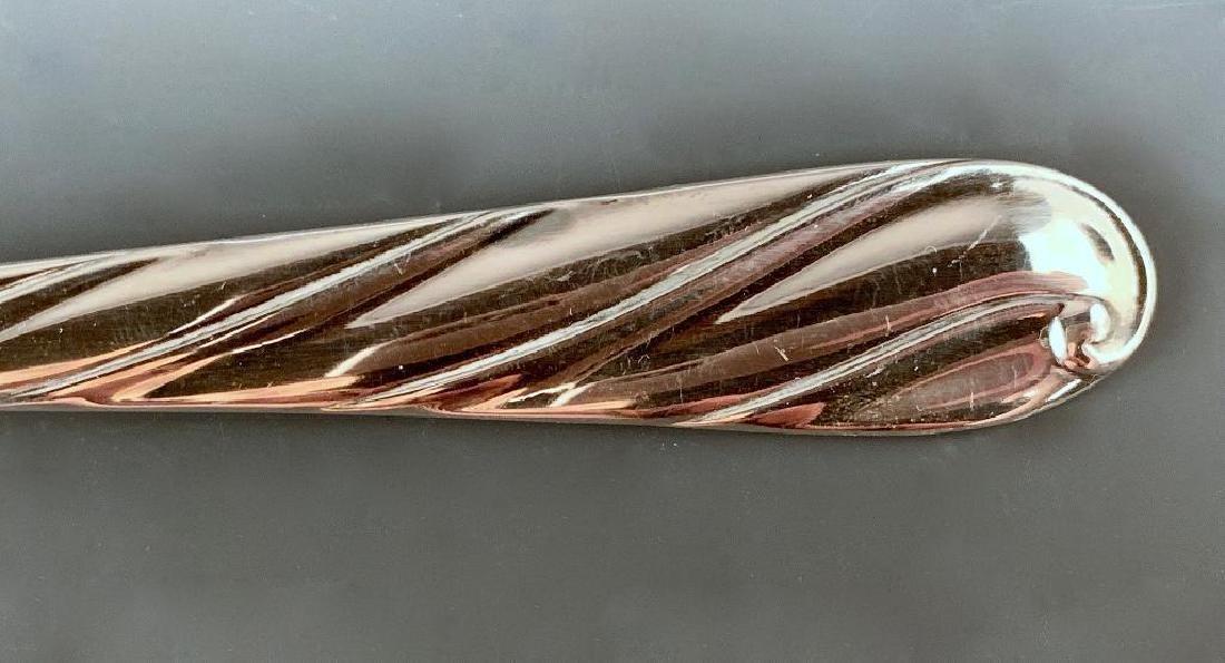 Buccellati Torchon Sterling Silver Flatware Service for - 6