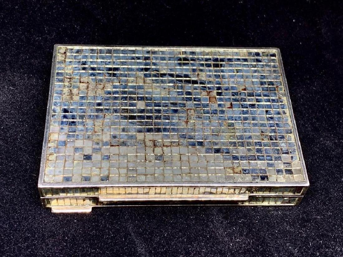 Rene Boivin, Paris, 18K Gold and Micromosaic Compact