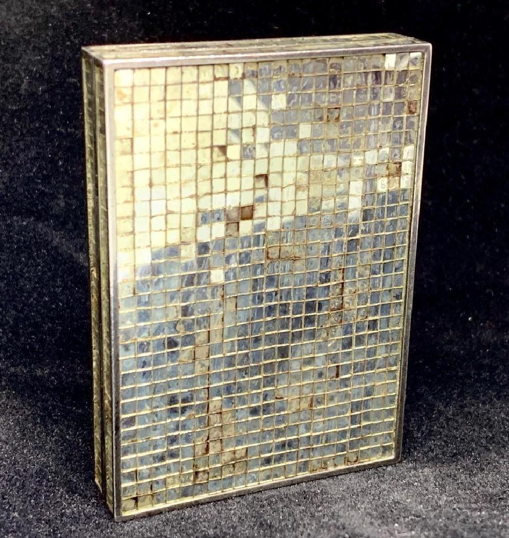 Rene Boivin, Paris, 18K Gold and Micromosaic Compact - 2