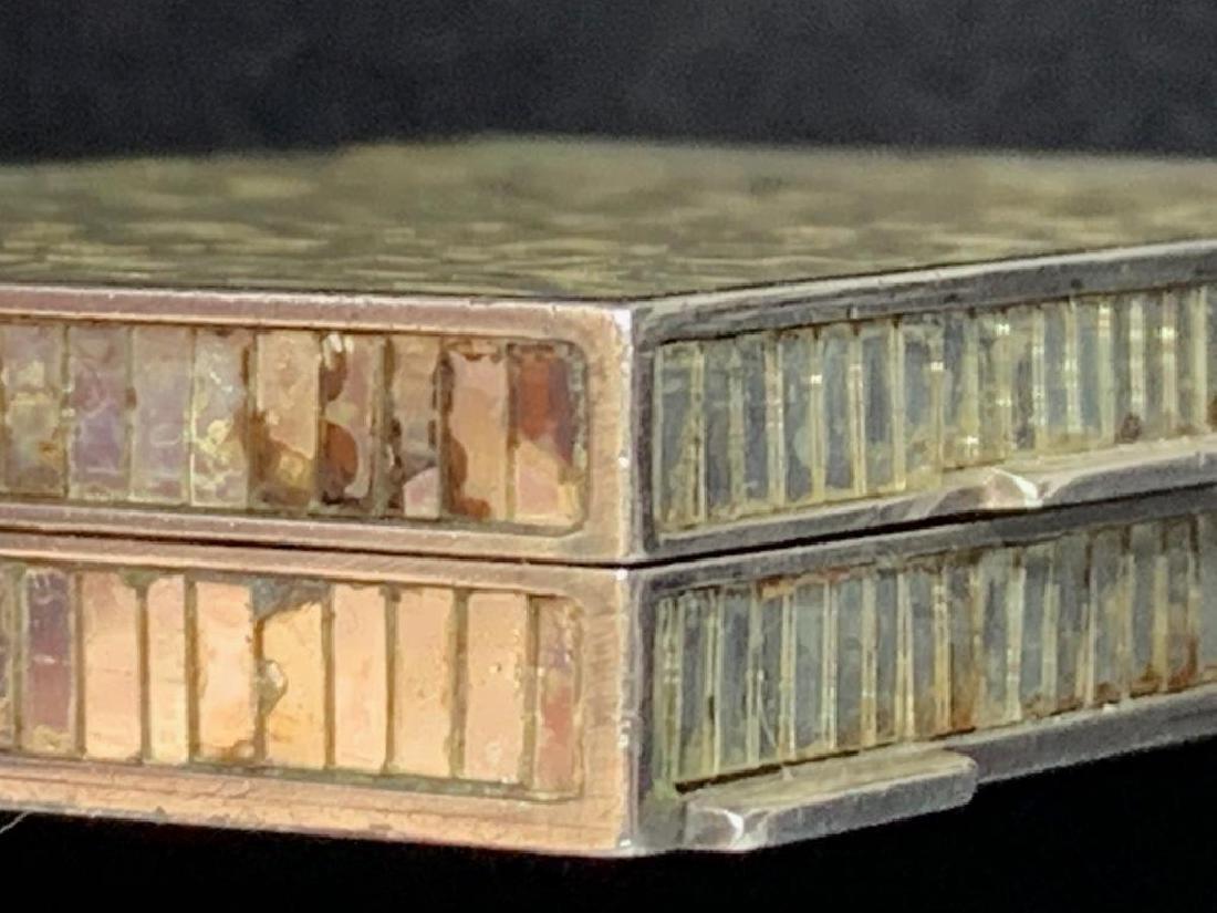 Rene Boivin, Paris, 18K Gold and Micromosaic Compact - 6