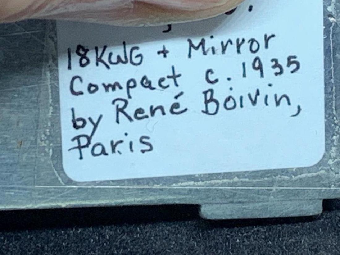 Rene Boivin, Paris, 18K Gold and Micromosaic Compact - 8