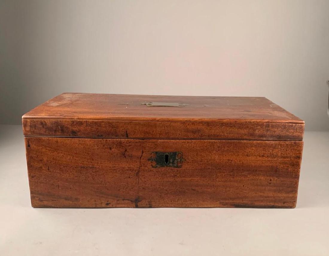 Rosewood Lap Desk, English, 19th Century