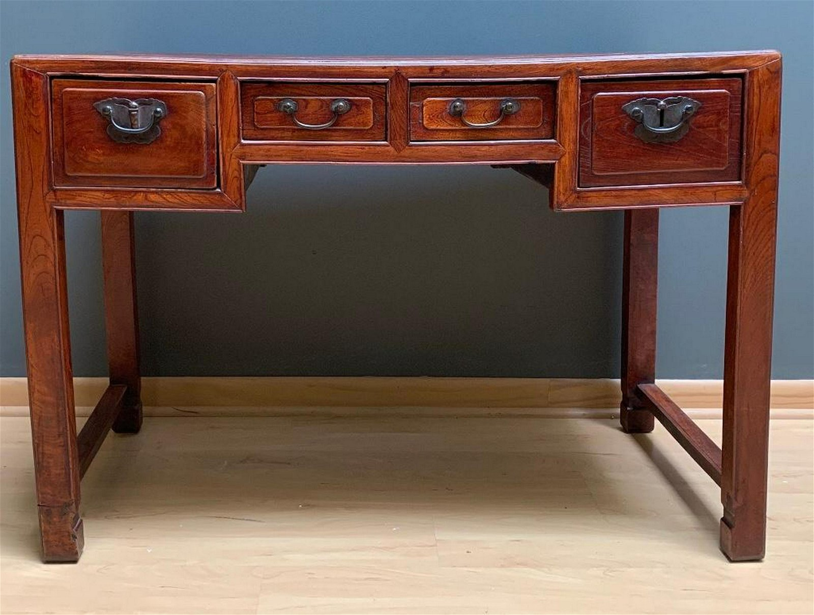 Chinese Ming Style Elm Wood Desk