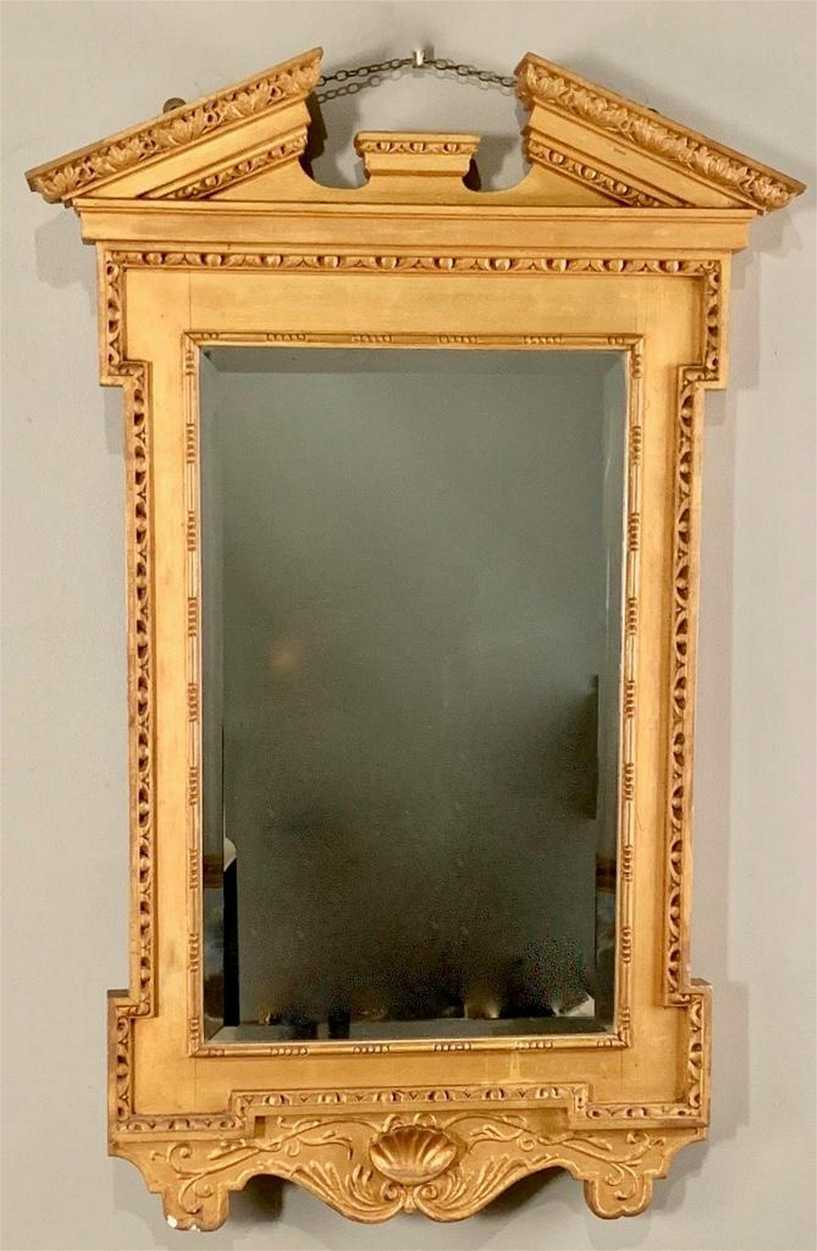 Georgian Style Gilt Mirror, Modern