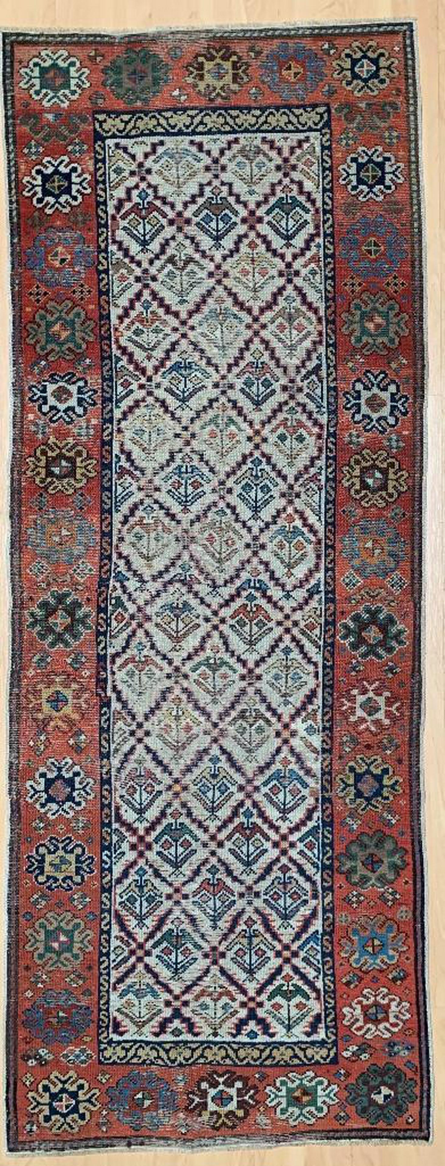 Caucasian Wool Carpet Runner