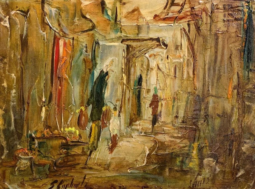 Zvi Raphaeli (Israeli 1924-2005)