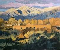 Robert Daughters (American, NM, AZ, 1929-2013)