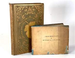 Two Antique Books; The Ladies Flora