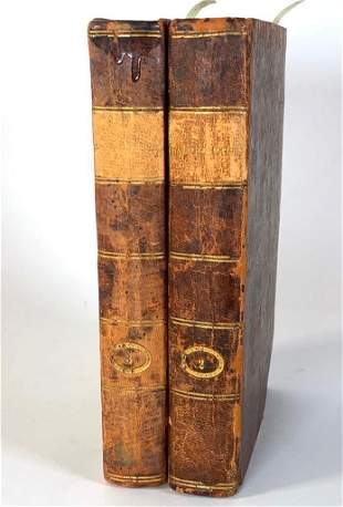 1711 First Edition of Characteristicks [sic] Of Men