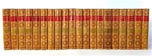 Thackeray's Works, Twenty Volumes, Illustrated Cabinet