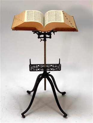 Victorian Mechanical Library Bookstand