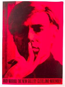 Andy Warhol Exhibition Poster, The New Gallery,