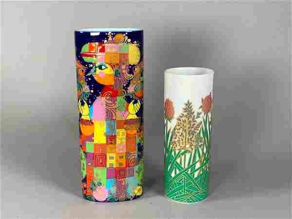 Rosenthal Bjorn Wiinblad and Studio Linie Vases