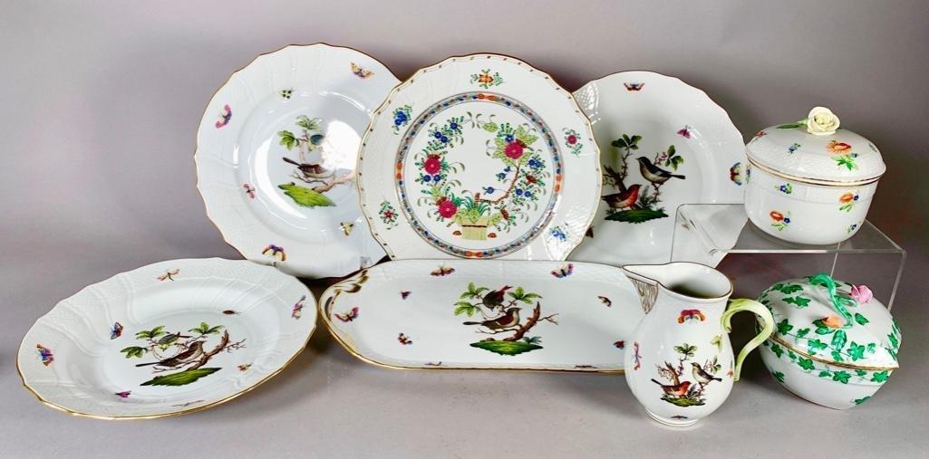 Lot of Herend Porcelain