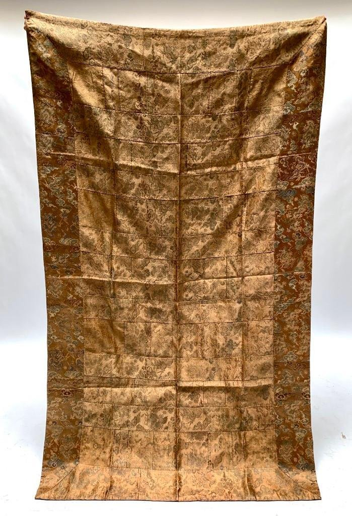 Chinese Silk Jacquard Woven Table Cloth