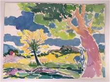 Algesa O'Sickey (American, 1917-2006)